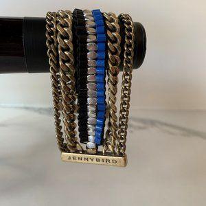 Jenny Bird multi chain bracelet